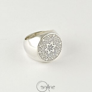 Anello Chevalier Winter's Tale Argento